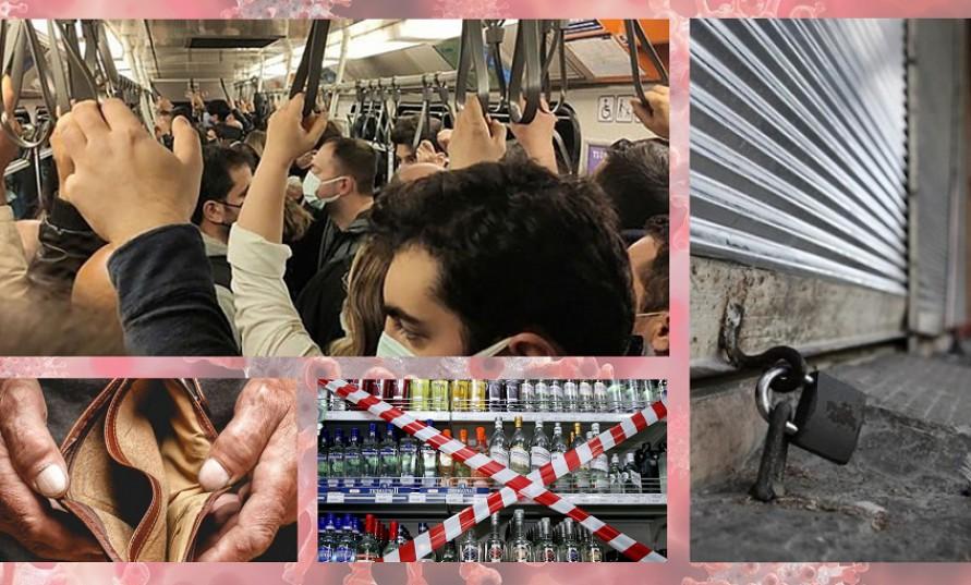 Kapanma dönemi notları 14. gün: Geçim sıkıntısı, hastalık, iktidarın yanlış politikaları ile buruk bayram