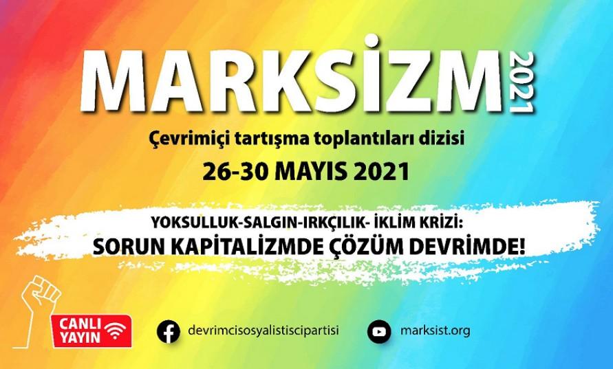 Marksizm 2021'in programı açıklandı