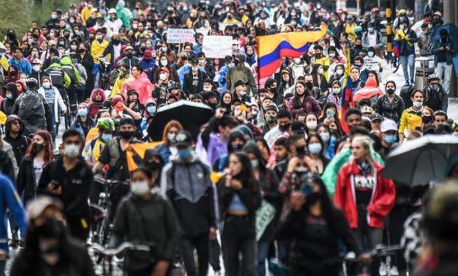Kolombiya'da genel grev ve katliam