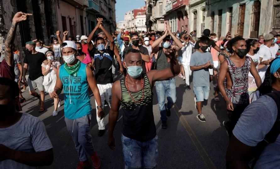 Küba: Gösterilerin açıklanması - Communistas Yayın Kurulu
