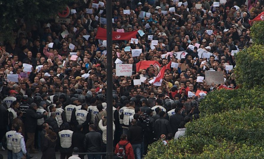 Tunus protestoları krizi tetikliyor